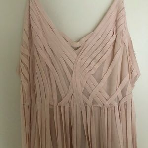 Pretty in pink party dress!
